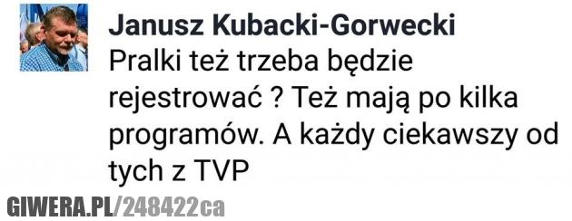 Pralka,TVP