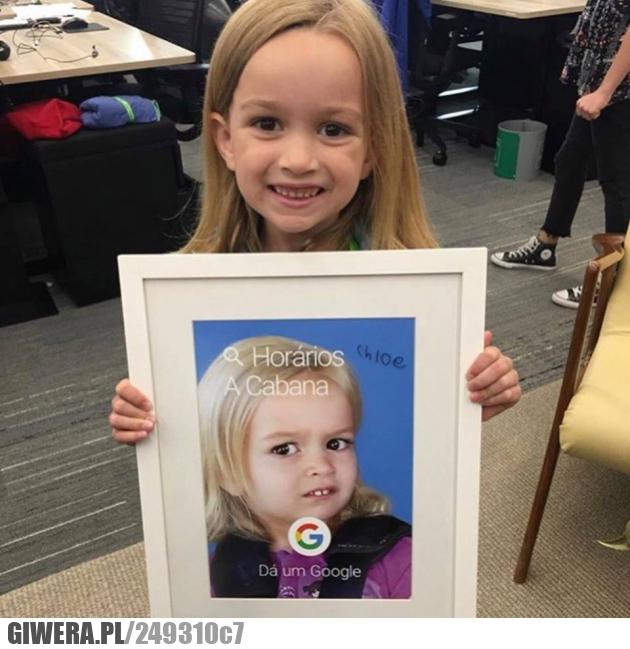 Chloe,śmieszna dziewczynka