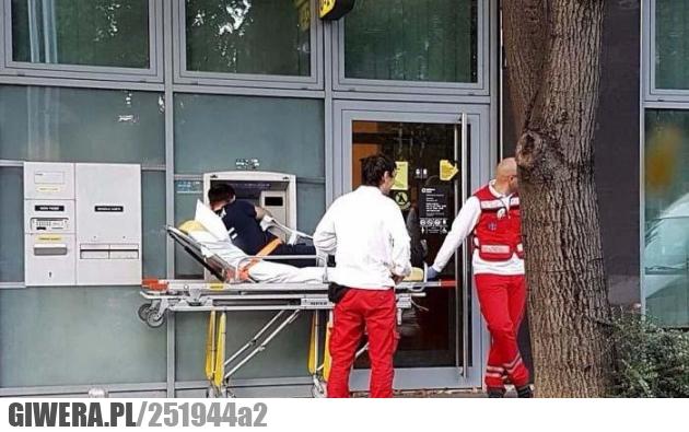 Szpital,bankomat,wtf