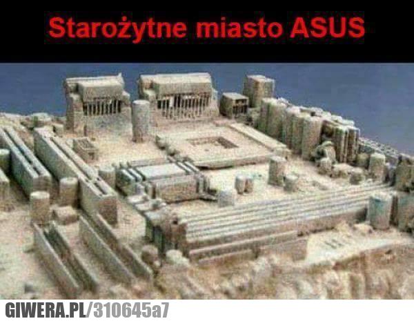 Asus,płyta główna,starożytne miasto