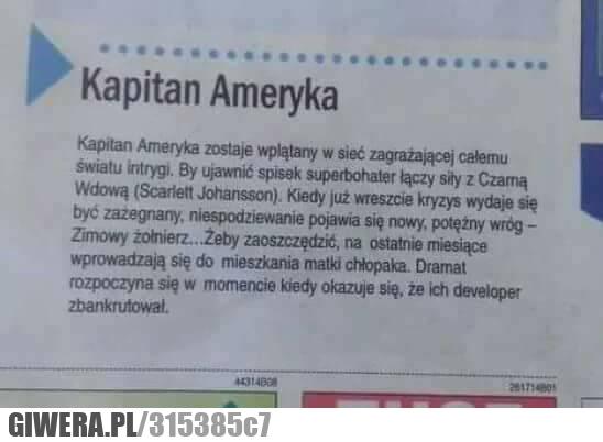 Kapitan Ameryka,developer