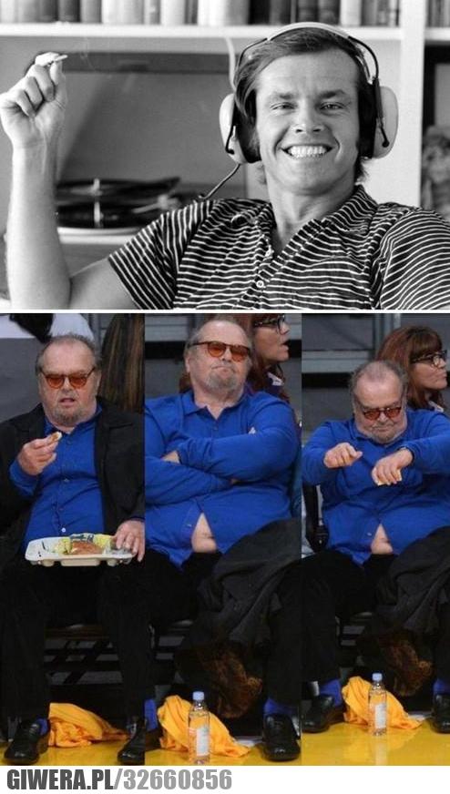 Jack Nicholson - 80 lat i 160kg