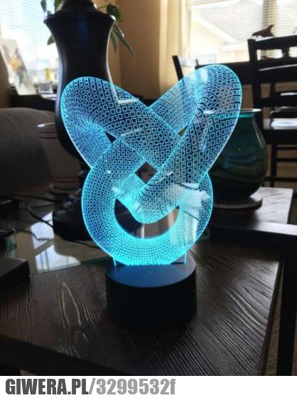 Lampa hologram